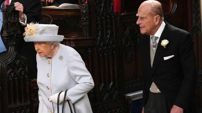 Reaparición sorpresa: Felipe de Edimburgo se deja ver en la boda de Eugenia de York
