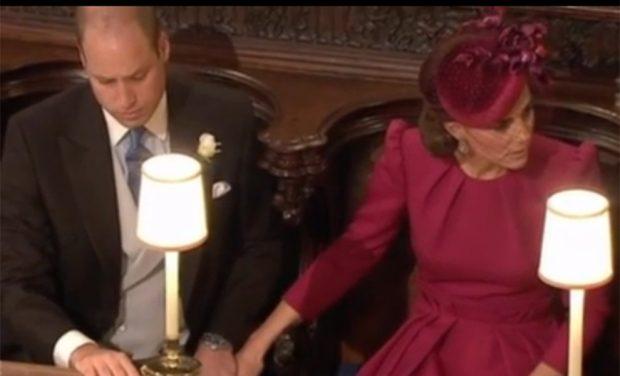 El gesto de Kate Middleton en la boda de Eugenia de York que ha pasado desapercibido