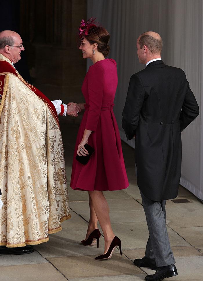 Kate Middleton en la boda de la princesa eugenia de york