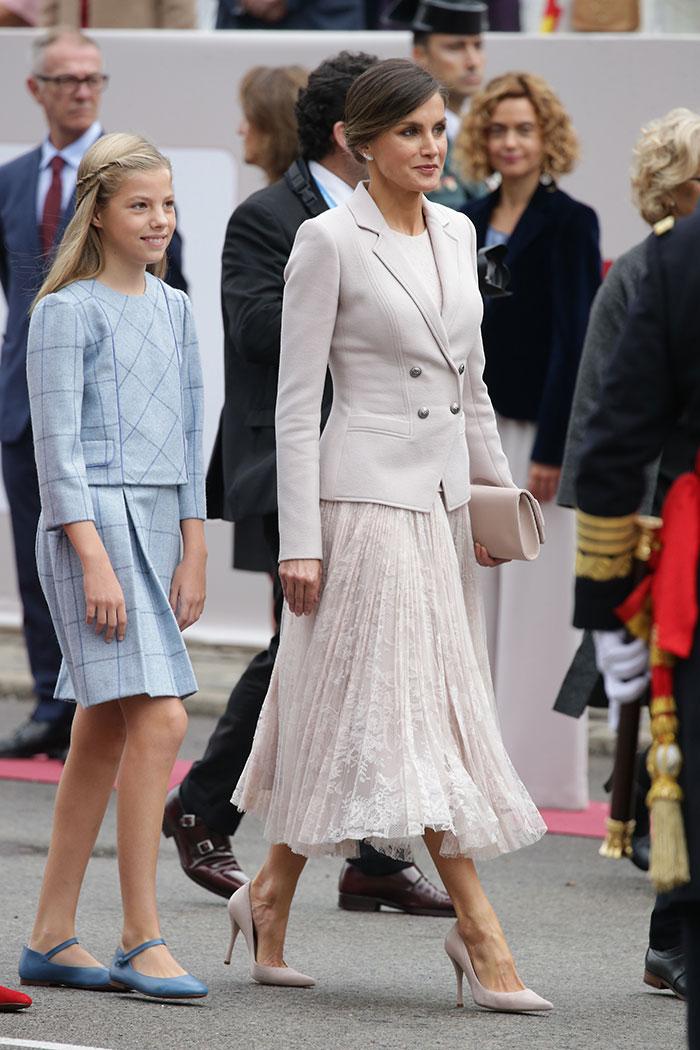 La reina Letizia en el Día Hispanidad 2018