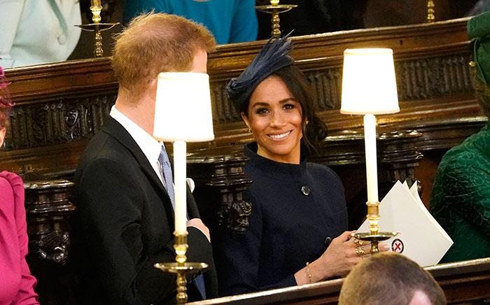 Meghan Markle en la boda de la princesa eugenia de york