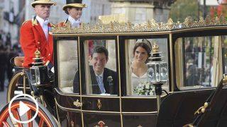 La espectacular carroza que llevó a los recién casados / Gtres.