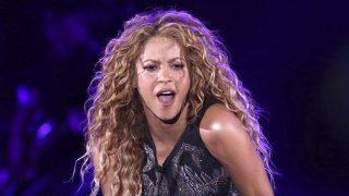 Shakira, en uno de sus conciertos / Gtres.