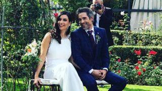 Los recién casados, Unax Ugalde y Neus Cerdà  / @beitasegui