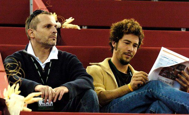Miguel Bosé y Nacho Palau