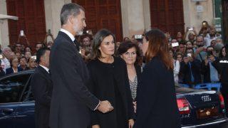 Los Reyes a su llegada a Manacor / Casa Real