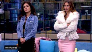 Miriam Saavedra y Techi son las dos nominadas de cara a la gala del próximo jueves/ Telecinco
