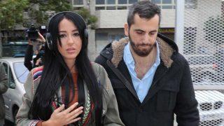Aurah Ruiz a su llegada a los juzgados de Colmenar Viejo/ Gtres