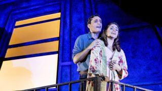 Tony y María en una escena del musical / Gtres