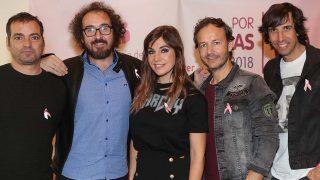 La Oreja de Van Gogh actuará en el concierto 'Por ellas' de Cadena 100/ Gtres