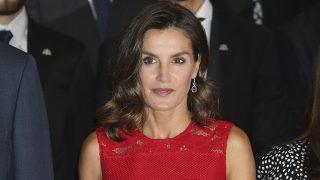 Doña Letizia Ortiz durante las audiencias previas a los premios Princesa de Asturias / Gtres