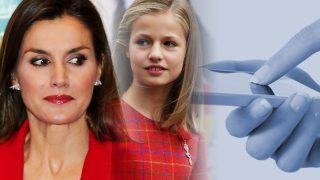 GALERÍA: Cuando Letizia sucumbió al móvil en público