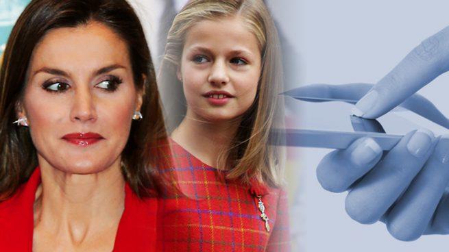 Reina Letizia princesa Leonor