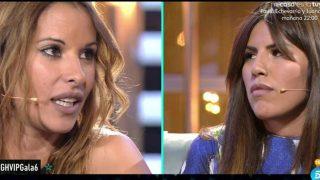 Isa Pantoja y Techi enfrentadas en plató / Mediaset