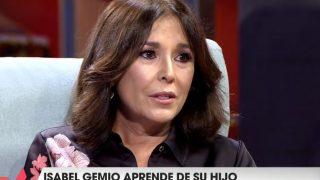 Isabel Gemio, durante su entrevista en 'Viva la Vida' / Telecinco.
