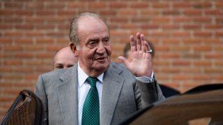 Don Juan Carlos, en su momento más extraño / Gtres.