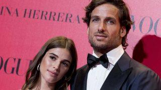 Feliciano López y Sandra Gago cumplen un año de novios/ Gtres