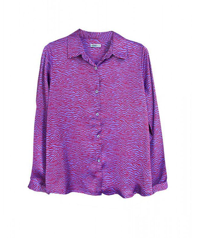 camisa cebra noon