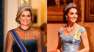 Máxima de Holanda y la Duquesa de Cambridge. / Gtres