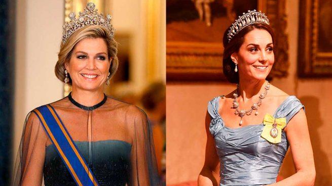 Máxima de Holanda y la Duquesa de Cambridge