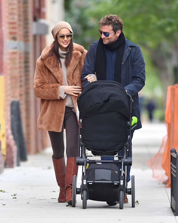 Bradley Cooper e Irina Shayk por Nueva York
