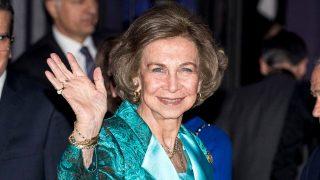 La Reina Sofía en el Premio BMW de Pintura. / Gtres