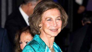 La Reina Sofía, durante su presencia en el Teatro Real / Gtres