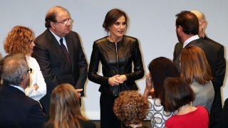 La reina Letizia se convierte en protagonista en la SEMINCI / Gtres