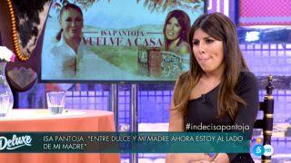 Isa Pantoja, en 'Sábado Deluxe' / Telecinco.