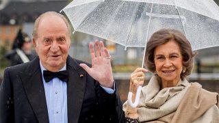 Don Juan Carlos y doña Sofía, en una imagen de archivo / Gtres.
