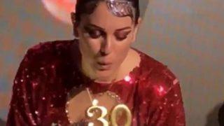 Blanca Suárez durante su fiesta de cumpleaños / Instagram