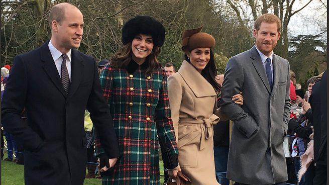 No todo es tan idílico entre los 'Fab Four', los príncipes Harry y William, más distanciados que nunca y Meghan es la causante