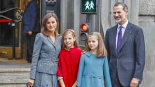 Los Reyes y sus hijas / Gtres