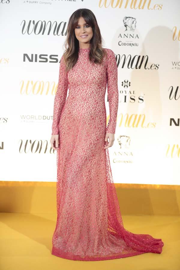 Isabel Jimenez en la fiesta de los premios Woman 2018