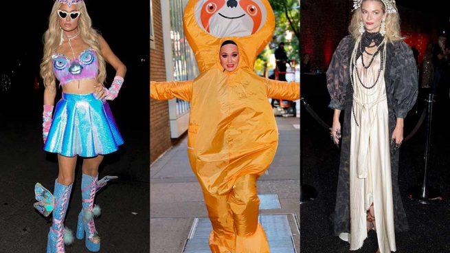 Halloween celebrities disfraces
