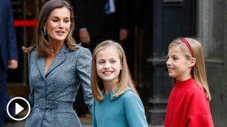 El improvisado 'cumpleaños feliz' a Leonor, entre instrucciones de la reina Letizia / Gtres