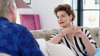 Antonia Dell'Atte, con Bertín Osborne / Telecinco.