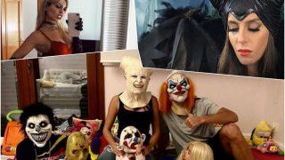 Descubre los disfraces de los famosos por Halloween / Redes sociales.