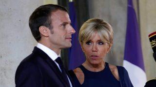 Los Macron, en una imagen reciente / Gtres.