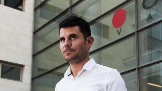 Javier Sánchez a la salida de los juzgados /Gtres