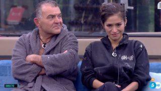 Miriam y El Koala, más unidos que nunca en GH VIP./Mediaset