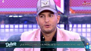 Omar Montes, durante 'Sábado Deluxe' / Telecinco.
