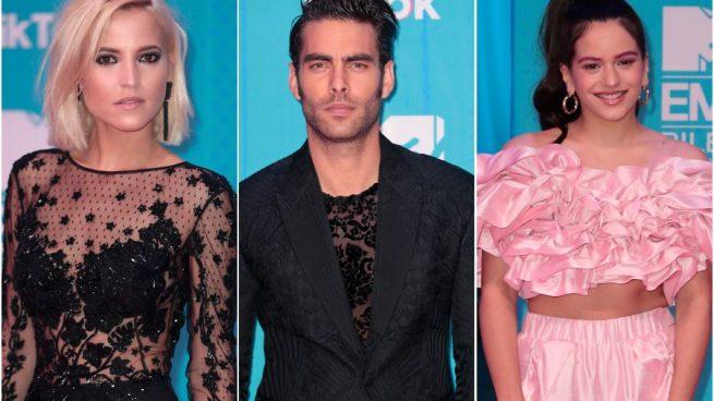 EN IMÁGENES | Lluvia de estrellas en los MTV Awards de Bilbao