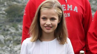 La princesa Leonor en los actos del centenario de Covadonga en septiembre / Gtres