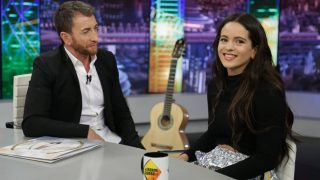 Rosalía y Pablo Motos en El Hormiguero./Atresmedia