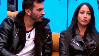 Suso y Aurah, durante un momento de su tensa discusión / Telecinco