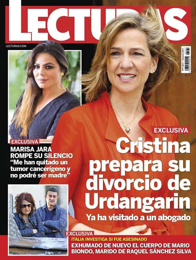 La infanta Cristina quiere divorciarse de Iñaki Urdangarin