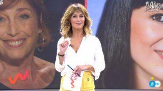 Emma García, en su estreno con 'Viva la Vida' / Telecinco.