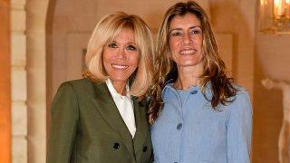 Brigitte Macron y Begoña Gómez en París. / Gtres