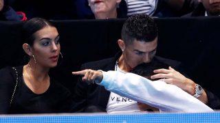 Cristiano Ronaldo y Georgina junto al pequeño Cristiano Jr /Gtres